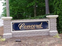 Monument Sign and Neighborhood Signs