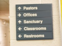 ADA Compliant, Engraved & Interior Signs