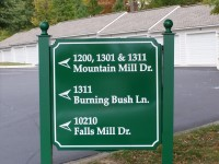 Directional Signs and Way Finding Signs